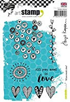 Carabelle Studio SA60294E All You Need Is Love - Cling Stamp
