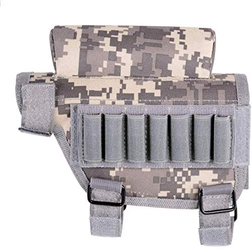 Equipo Equipo de Caza Bolsa de munición táctica para Airsoft Rifle Rifle Cartucho Munición Bolsa de valores Gris Improve