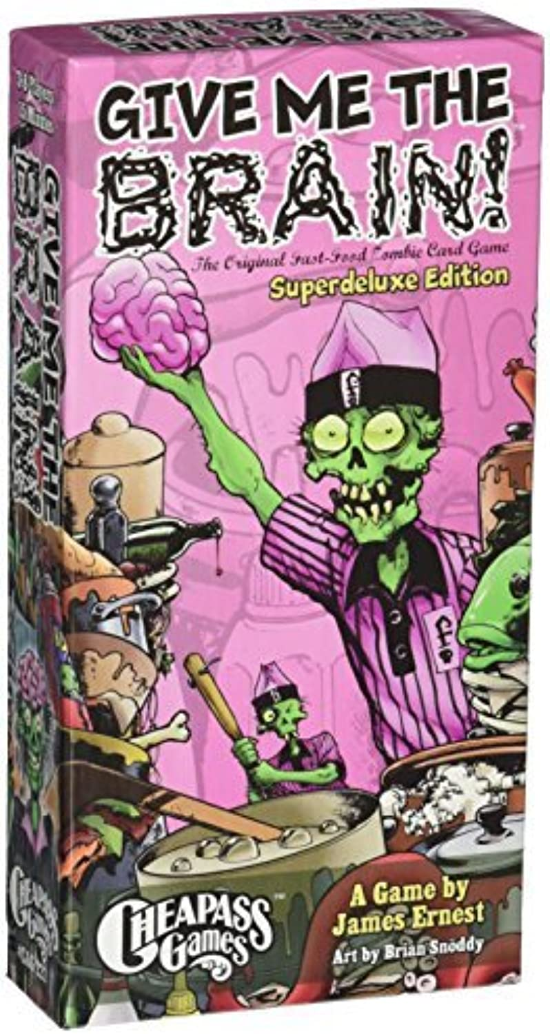 Give Me The Brain Superdeluxe Edition by Cheapass Games