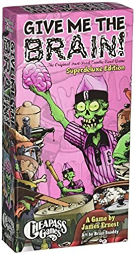 ventas calientes Give Give Give Me The Brain Superdeluxe Edition by Cheapass Games  de moda
