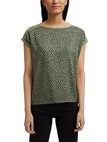 Esprit 991ee1k328 Camiseta, Luz De Color Caqui, XXL para Mujer