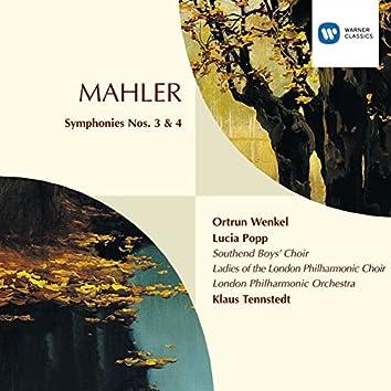 Mahler:Symphonies 3 & 4