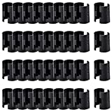 ANPHSIN 36 Pairs 72 Pack Wire Shelving Shelf Lock Clips for 1' Post- Shelving Sleeves Replacements for Wire...