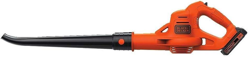 BLACK+DECKER LSW221 20V MAX Lithium Cordless Sweeper (Renewed)