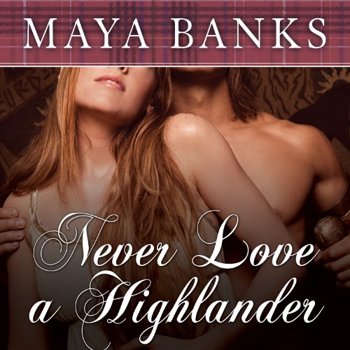 Never Love a Highlander audiobook cover art