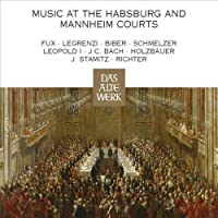『ハプスブルクとマンハイム宮廷の音楽、レオポルト1世の宮廷』 ニコラウス・アーノンクール & ウィーン・コンツェントゥス・ムジクス(4CD)