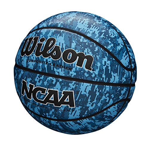 Wilson Basketball NCAA PERFORMANCE CAMO, Größe: 6, Komposit-Leder, blau, WTB07320XB06