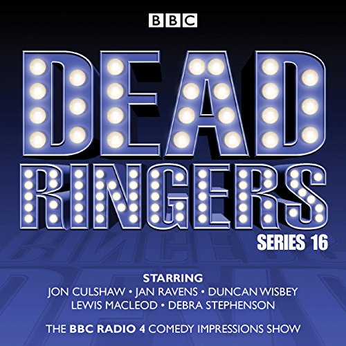 Dead Ringers: Series 16 plus Christmas Specials audiobook cover art