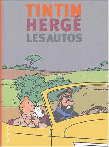 Tintin, Hergé et les autos