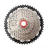 V GEBY Cassettes y piñones para Bicicleta de montaña, Piñón para Bicicleta de 10 velocidades 11-50T