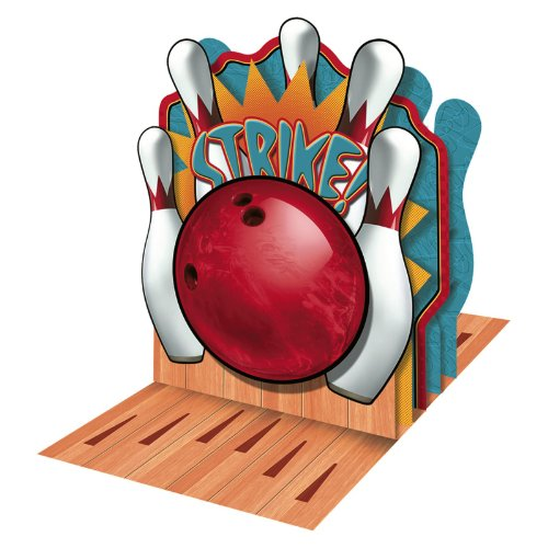 Its a Strike Bowling Centerpiece