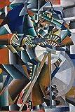 1art1 Kazimir Malévich - El Afilador de Cuchillos Principio de la Animación, 1913 Póster Impresión Artística (180 x 120cm)