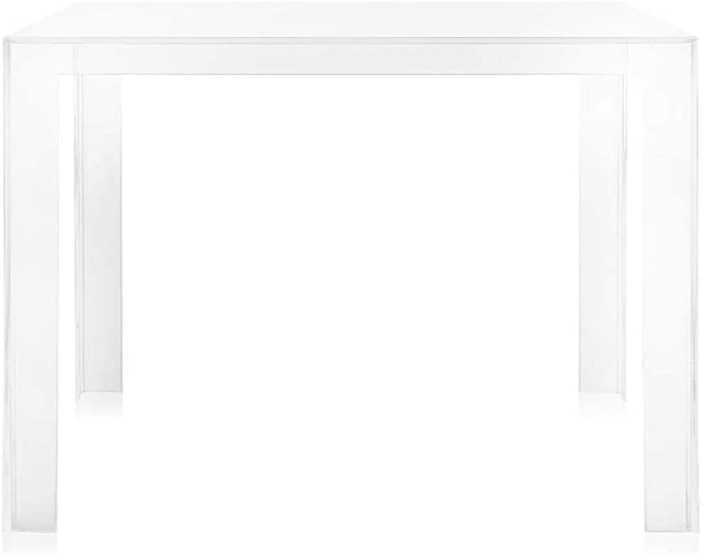 Kartell invisible, tavolo in pmma trasparente 5070/B4