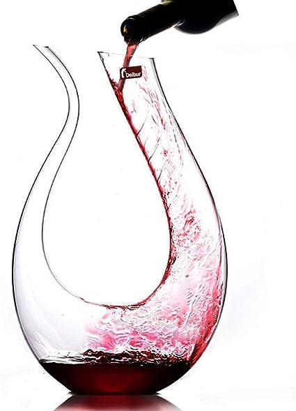 1300ml carafe a decanter vin decanteur vin design avec accessoires pour decantation rapide vin rouge et blanc