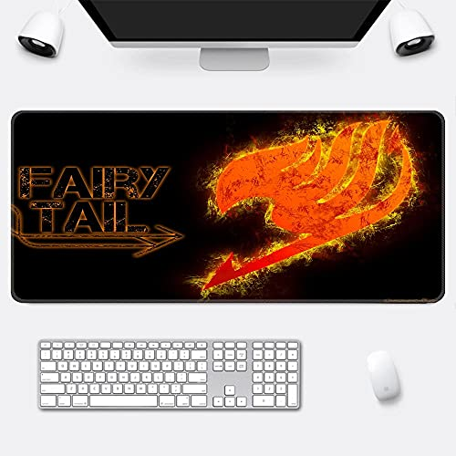 Fairy Tail Alfombrilla para ratón Speed Gaming XXL 800 x 400 mm - XXL Mousepad Mouse Pad - Base para Mesa Grandes Dimensiones - Mejora la precisión y la Velocidad - Resistente-H1_400*900*3mm