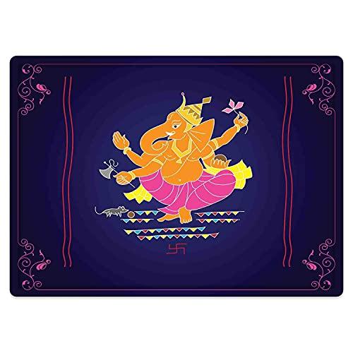 Tapis de Salle de Bain Absorbant antidérapant,Coloré, Composition avec Plusieurs Bras sur Fond Sombre Conception de tourbillons et de bo Tapis de Bain Lavable en Machine 50 * 80cm