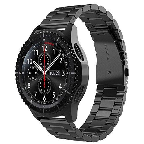 Simpeak Correa Compatible con Samsung Gear S3 Reloj, Correa