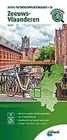 Zeeuws Vlaanderen (Gent) 1:100 000: Fietsknoopenuntenkaarten Nederlande/ Belgie