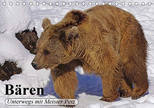 Bären. Unterwegs mit Meister Petz (Tischkalender 2021 DIN A5 quer)