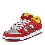 Nike Dunk Low Premium SB QS 'Crawfish'–504750–660- - - Action Red/Metallic...