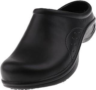 BAOBLADE Women Chef Cook Garden Medical Nurse Uniform Shoes Clogs Lightweight Slip On Slipper