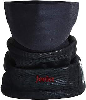 comprar comparacion Calentador de Cuello Moto Unisex con Termómetro Pasamontañas Polar Antiviento Respirable Máscara de Esquí para Ciclismo Co...