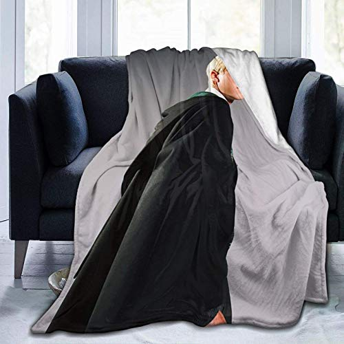 shenguang Draco-Malfoy Suitable for Draco-Malfoy Wool Blanket Blankets in All Seasons. Super Soft Plush Blanket for Winter Bedding Sofa 50'x40'