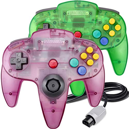 N64 Controller, King Smart Classic Wired N64 Controllers with Upgraded...