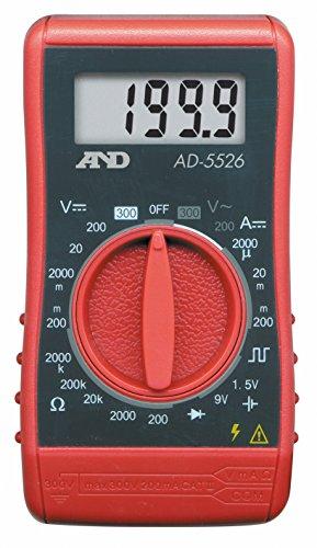 エー アンド デイ A&D デジタルマルチメーター AD-5526