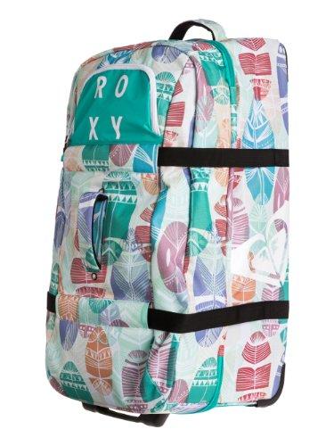 Roxy Bolsa de Viaje, Reisetasche Wyoming Travel Bag, 76 cm, Blanco bwhite Feathers, WTWSB024-WBB3