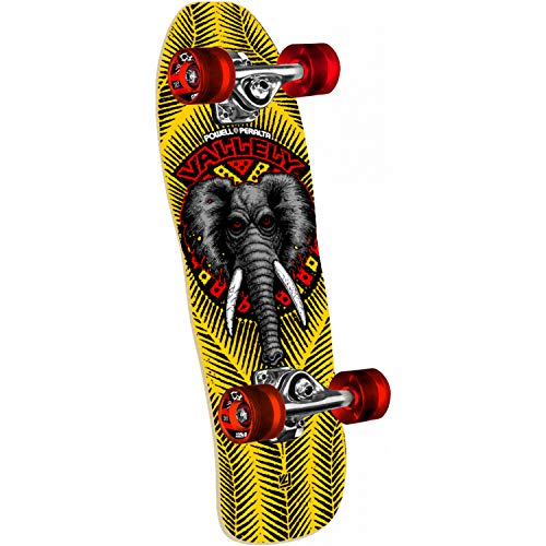 Powell-Peralta Skateboard Mini Cruiser Complete Mike Vallely Elephant 7.5' x 24'