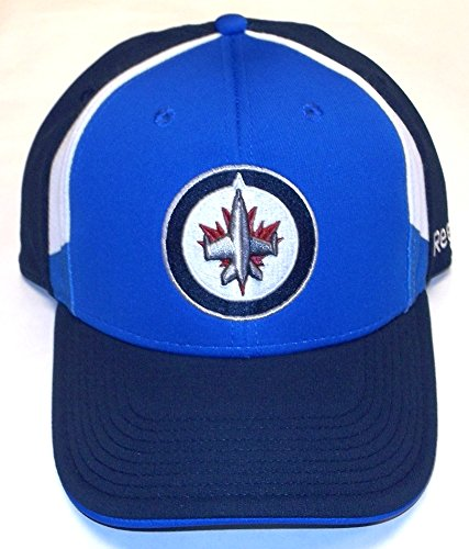 Reebok Winnipeg Jets Structured Flex Hat–OSFA–MZ337