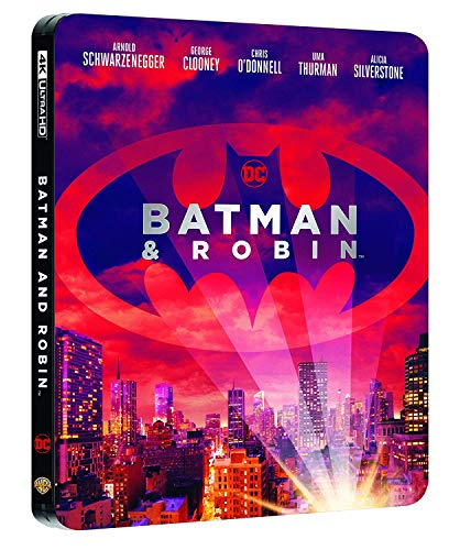 Blu-Ray - Batman & Robin Steelbook (4K Ultra Hd+Blu-Ray) (1 BLU-RAY)