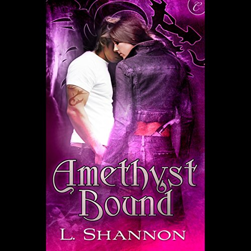 Amethyst Bound audiobook cover art