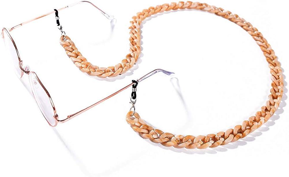 Seasonal Wrap Introduction Cren Acrylic Eyeglass Chain Necklace Holder Strap Regular store Glasses Cords