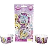 Dekoback 01-14-00782 - Moldes para Magdalenas (50 Unidades), diseño de Princesas Disney