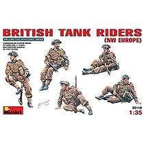 ミニアート 1/35 イギリス戦車跨乗兵セット5体入り 北西ヨーロッパ戦線 MA35118 プラモデル