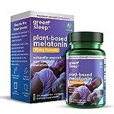 GreenSleep 10mg Plant-Based Melatonin - Purity Products - Naturally Sourced, Non-Synthetic PhytoMelatonin - 10 mg Melatonin for Deep Restorative Sleep - Vegan, Made Without GMOs - 30 Veg Capsules