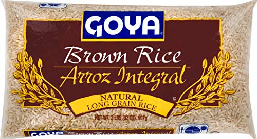 Goya Natural Long Grain Brown Rice 2 Pound