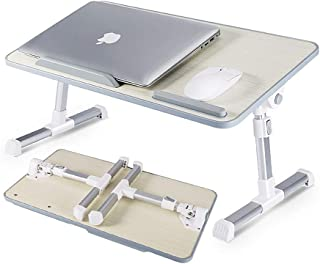 [Large Size] Design Adjustable Laptop Table, Portable Standing Bed Desk, Foldable Sofa Breakfast Tray, Notebook Computer S...