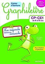 2017 Graphilettre CP CE1 de Delphine Vaufrey