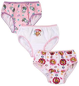 Nickelodeon Paw Patrol 3 Pack Girls  Panties Size 4