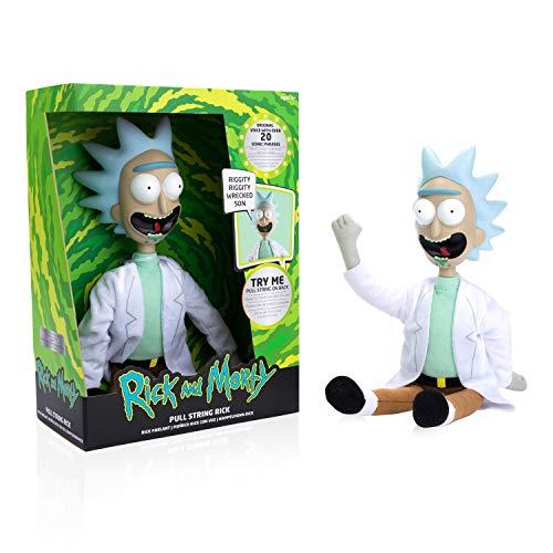 WOW! STUFF Rick and Morty Figur Rick mit Sound 12 Sprüche beweglich 36cm