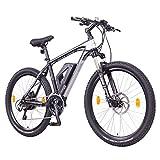 NCM Prague Plus Bicicletta elettrica Mountainbike, 250W Batteria 36V 14Ah 504Wh, Nero 26'