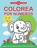 Colorea por números. Libro de colorear para niños pequeños.