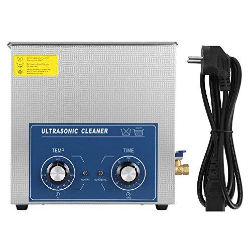 Pulitore ad Ultrasuoni, 3L/6L/10L/14L/15L/22L Ultrasonic Dispositivo Cleaner con Timer E Cesto, Pulitore industriale ad ultrasonico pulizia in acciaio inox (14L)