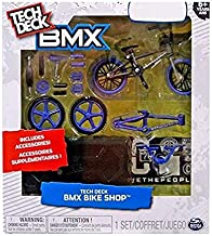 Tech Deck BMX Bike Shop with Accessories and Storage Container - Design Your Way Bike Toy - CULT Bikes Design - Purple and Black - For Ages 6 and Up