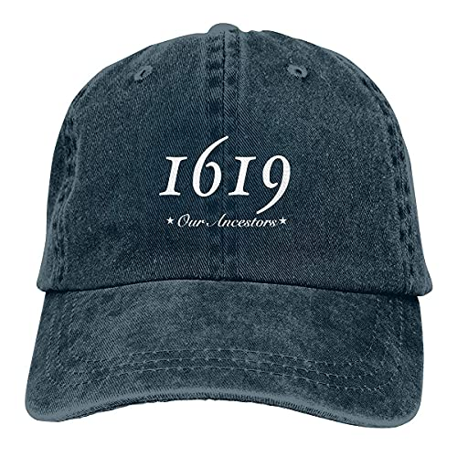 gymini 1619 Our Ancestors Gorra de béisbol lavado ajustable algodón unisex Deportes Papá Sombrero Trucker Cowboy Cap