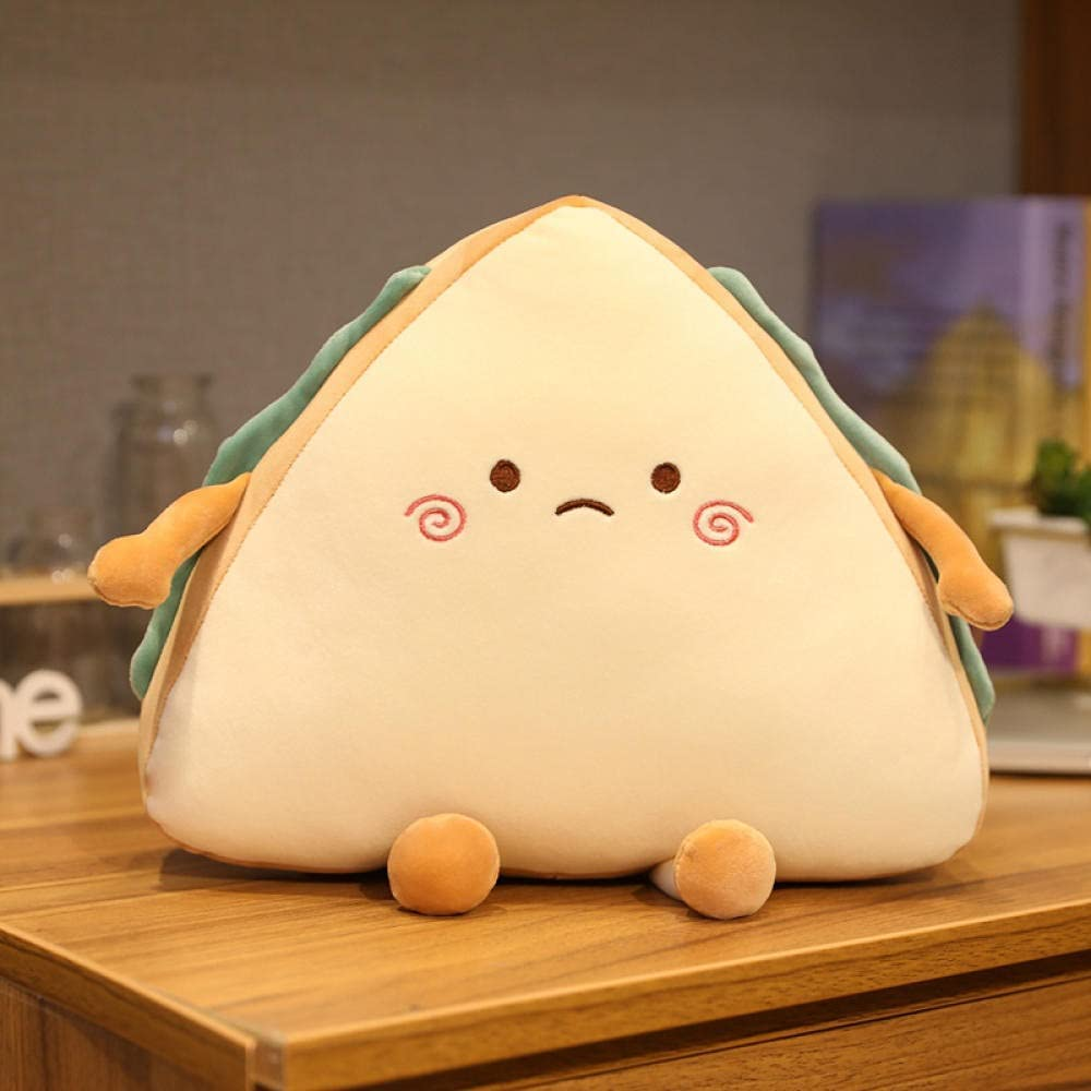 YYGQING Cute Sandwich Plush Toy Ca Reservation Pillow Bread Soft Throw Animer and price revision