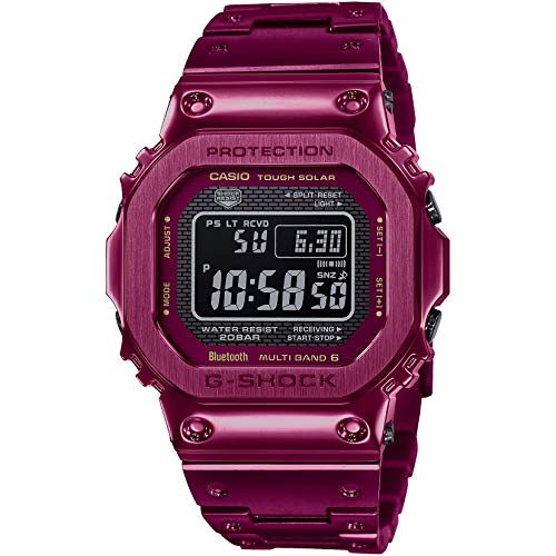 G-Shock GMWB5000RD-4 Red IP One Size